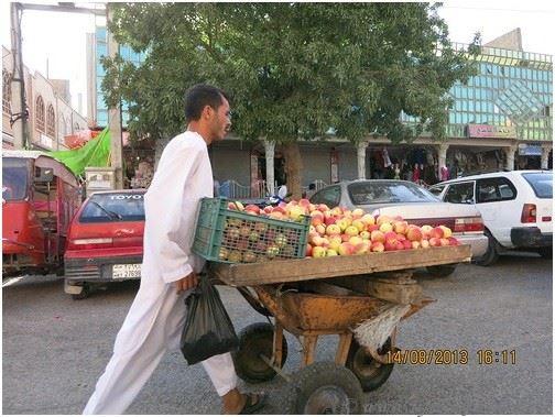 Торговые улицы Герата, Афганистан