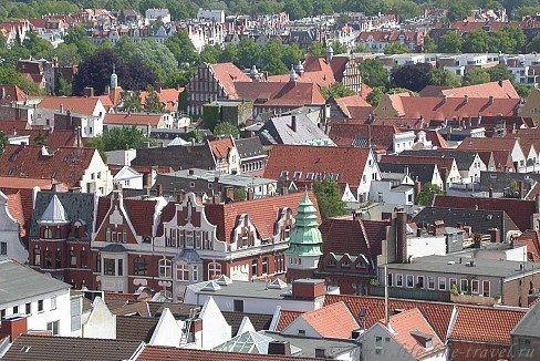 Достопримечательности Любека, пряничного городка Германии