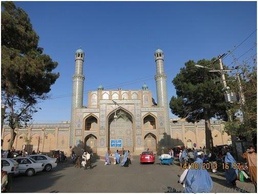 Пятничная мечеть Масджиди-Джамми, Герат, Афганистан