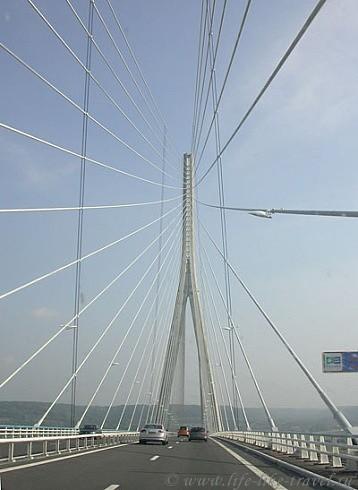 Нормандский мост, Франция