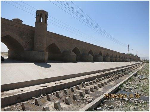 Арочный мост Пули-Малан, Герат, Афганистан