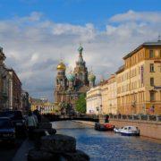 Канал Грибоедова и Спас на Крови