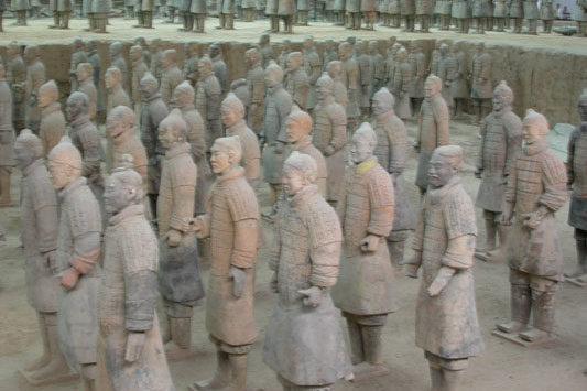 Мировые достопримечательности Китая: китайская терракотовая армия