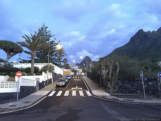 Тенерифе зимой