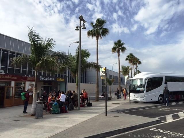 Полезная информация о Тенерифе, южный аэропорт