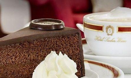Торт «Захер» («Sachertorte»)