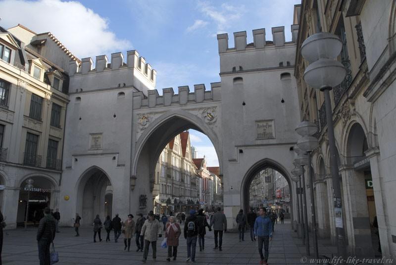 Центральные ворота, Мюнхен