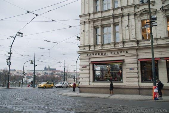 """Прага Марины Цветаевой: ресторан """"Славия"""""""