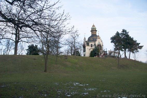 Прага Марины Цветаевой: Ганавский павильон