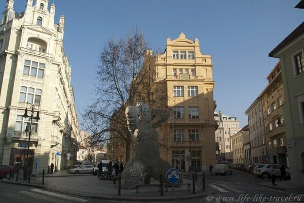 Прага Франца Кафки