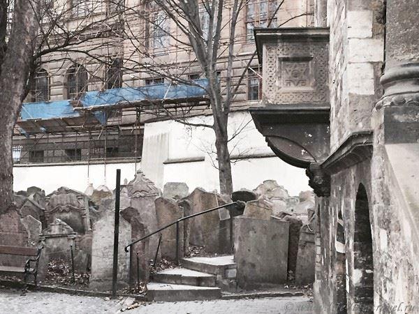 Прага Марины Цветаевой: старое еврейское кладбище