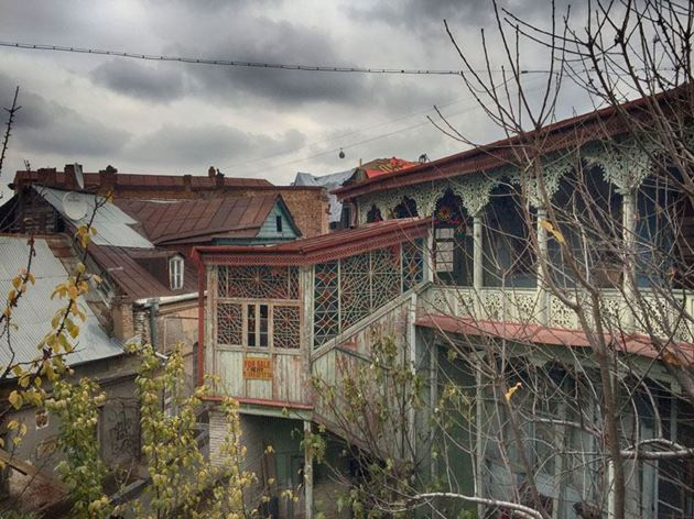 старинные грузинские дома фото маленькой жене