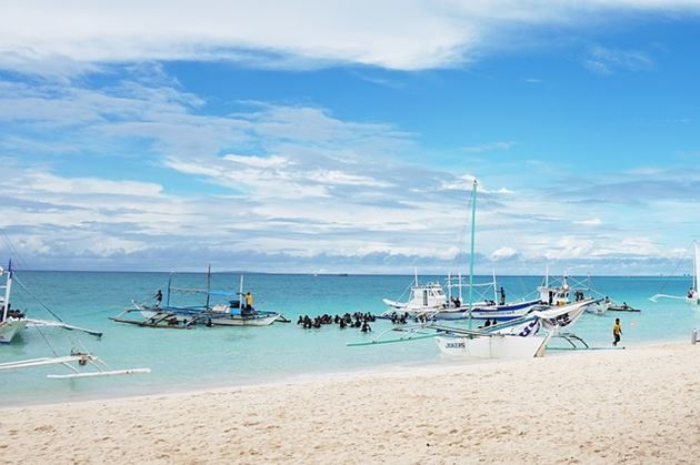 Фото Филиппины: Боракай, фестиваль Ати-Атихан в Калибо