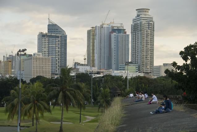 Манила, вид с Интрамуроса