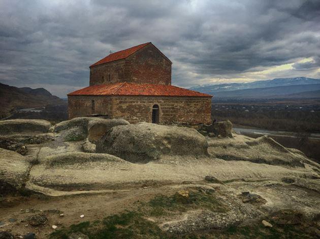 Уплисцихе, Грузия