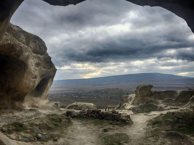 Самостоятельно в Грузию, Уплисцихе