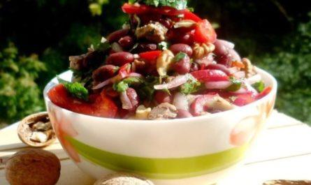 Грузинская кухня, салат Тбилиси
