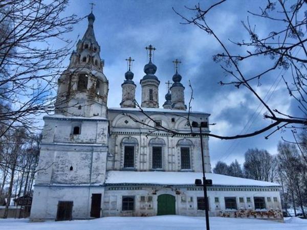 Великий Устюг Спасо-Преображенская церковь