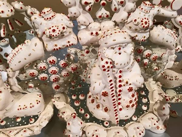 Как сделать новогоднюю елочную игрушку из ваты в стиле ретро своими руками: мастер-класс из Великого Устюга