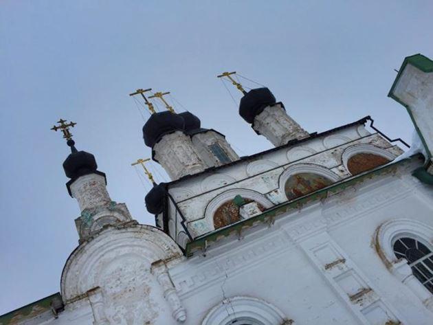 Великий Устюг церковь Прокопия Праведного