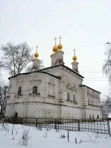 Великий Устюг Церковь Вознесения