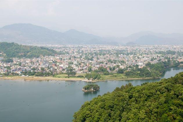 Непал, Покхара, озеро Фева, храм Варахи