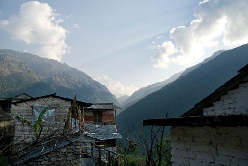 Непал, Гималаи, Умери, трек к базовому лагерю Аннапурны ABC