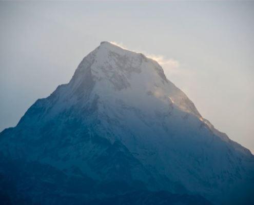 Аннапурна, Непал, Гималаи, трек к базовому лагерю Аннапурны ABC