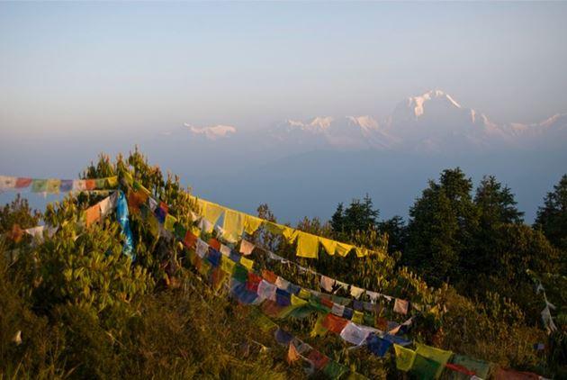 Непал, Гималаи, Pun Hills, трек к базовому лагерю Аннапурны ABC
