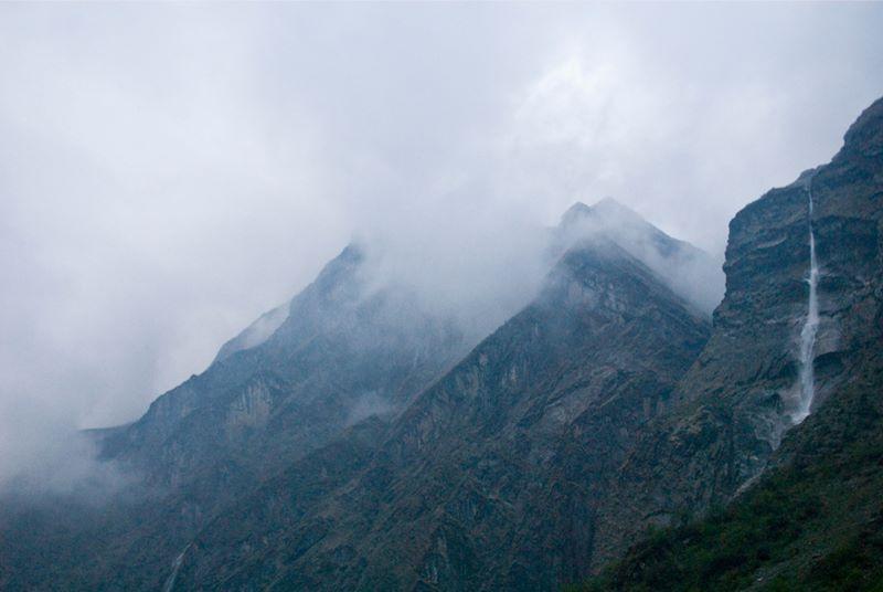 Дюрали, Непал, Гималаи, трек к базовому лагерю Аннапурны ABC