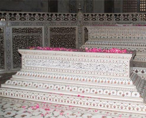 Tadzh-Makhal, Agra, Indiya