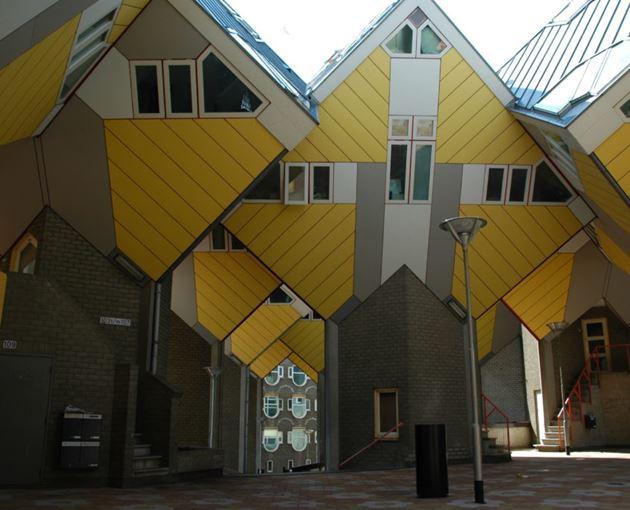 Кубические дома, Роттердам