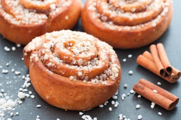 Шведские булочки с корицей — рецепт шведской кухни