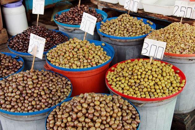 Рынок, Албания