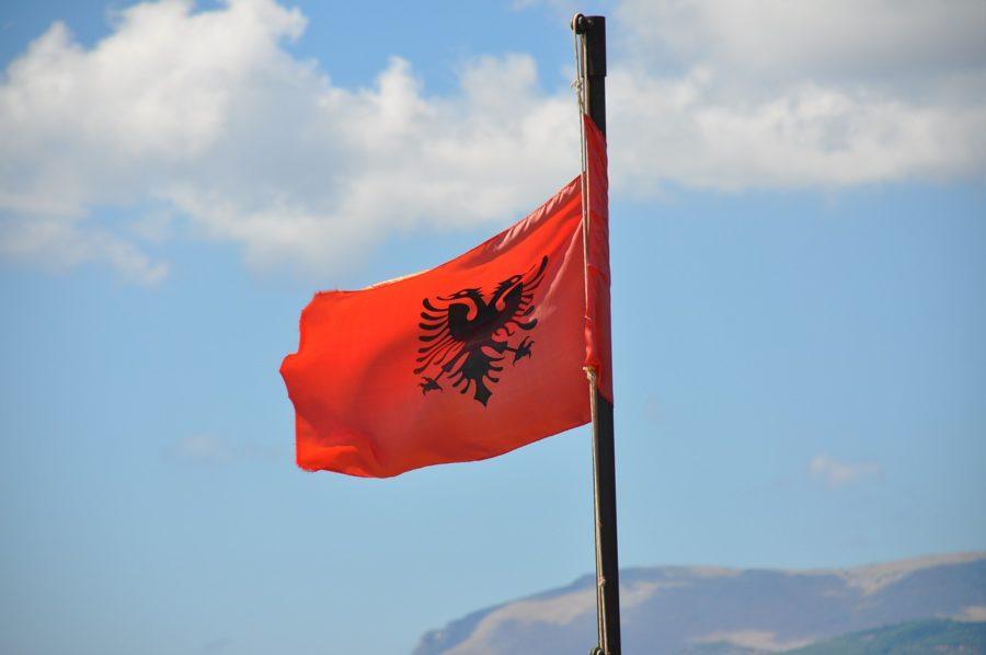 Флаг, Албания