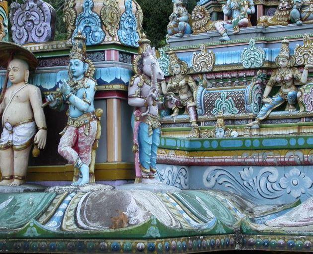 Индуистский храм, Шри-Ланка