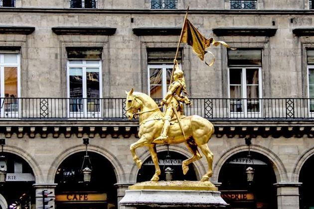 Жанна ДАрк, Париж, Франция