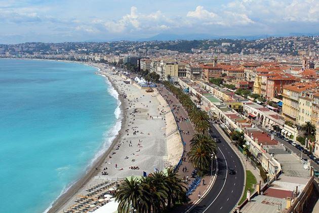 Лазурный берег, Франция