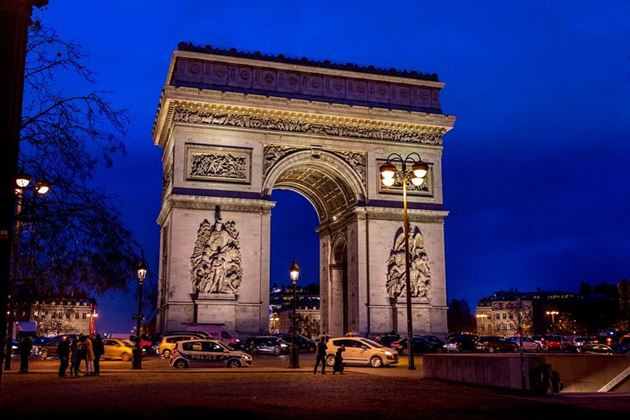 Триумфальная арка, Франция