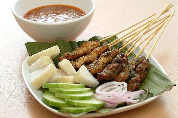 Сатэй (азиатский шашлык) - рецепт индонезийской кухни