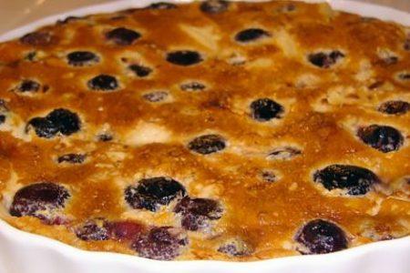 Клафутти с вишней — рецепт французской кухни