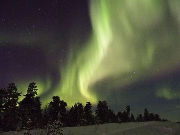 Северное сияние, Финляндия