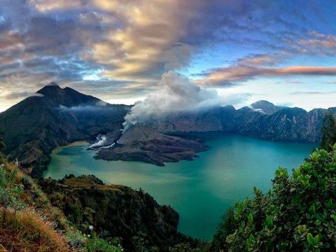 Индонезия, пейзаж