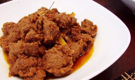 Мясо Rendang