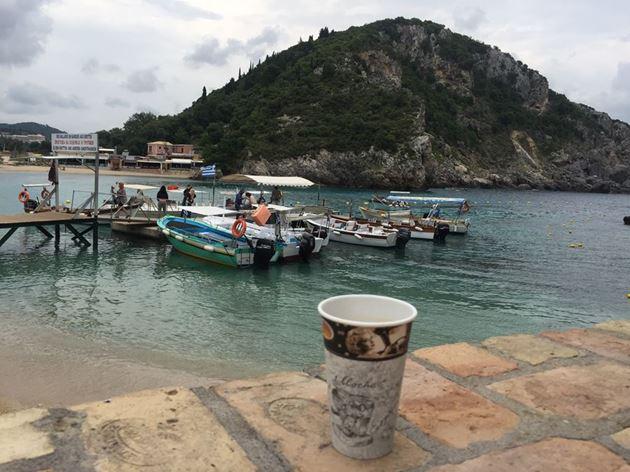 Греция, Корфу, Палеокастрица