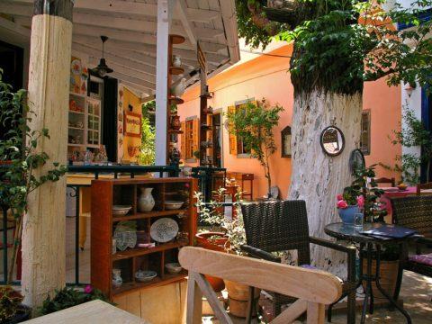 Греция кафе