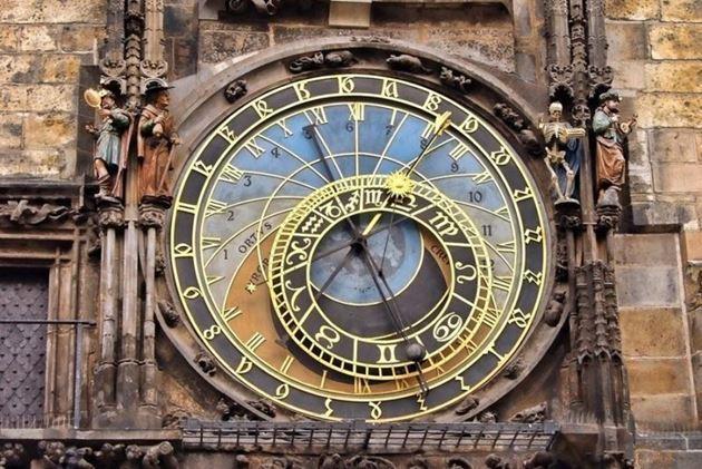 астрономический часы в Праге