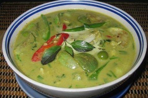 Зеленый карри — рецепт тайской кухни