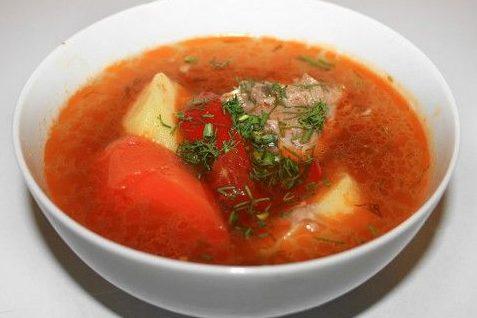 Шурпа — рецепт узбекской кухни