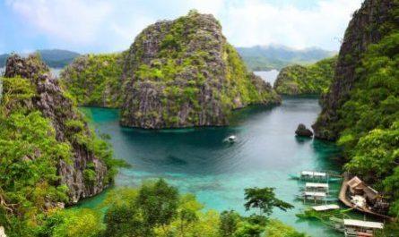 Пейзаж Корона на острове Бусуанга